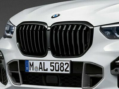 BMW - M Performance Gloss Black Kidney Grilles - BMW G05 X5