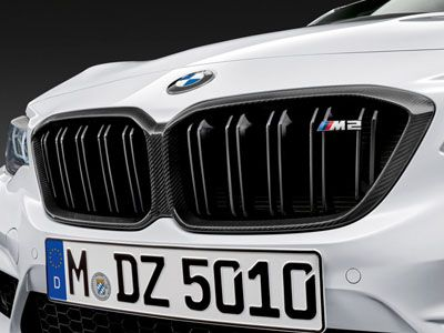 BMW - M Performance Carbon Fiber Kidney Grilles - BMW F87 M2C