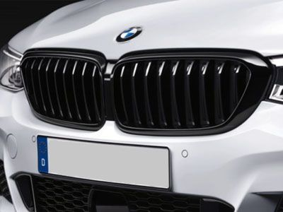 BMW - M Performance Gloss Black Kidney Grilles - BMW G32 6-Series