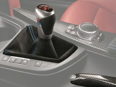 IND F87 M2 Matte Carbon Stitched 6 Speed Shift Boot