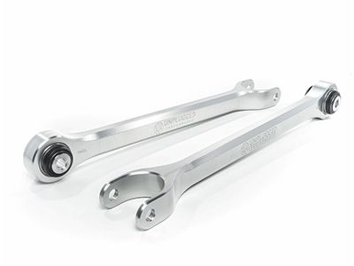 Unplugged Performance - Billet Rear Traction and Rear Trailing Arms - Tesla Model 3 & Model Y