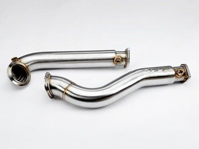 VRSF - 3″ Stainless Steel Catless Downpipes - BMW E60/E61 535i & 535xi N54