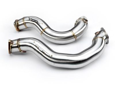 VRSF - 3″ Cast Stainless Steel Catless Downpipes V2 - BMW E9X 335i & E8X 135i N54
