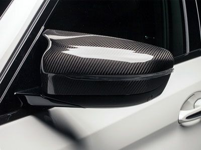 BMW - M Performance Carbon Fiber Mirror Caps - BMW F90 M5 & F91/F92 M8