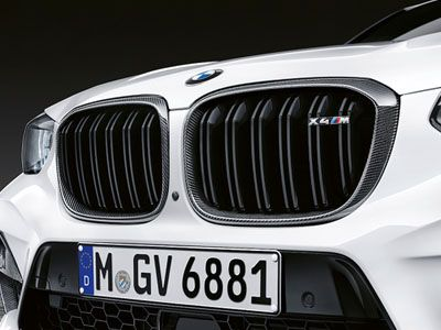 BMW - M Performance Carbon Fiber Kidney Grilles - BMW F98 X4M