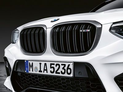 BMW - M Performance Carbon Fiber Kidney Grilles - BMW F97 X3M