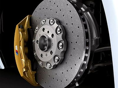 BMW - Carbon Ceramic Brake Retrofit Kit - BMW F8X M3 & M4
