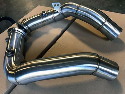 VRSF - Stainless Steel Catless Downpipes - BMW F10/F12/F06 M5/M6