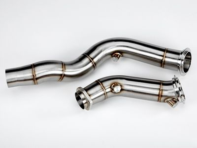 VRSF - Stainless Steel Catless Downpipes - BMW F8X M3/M4 & F87 M2C