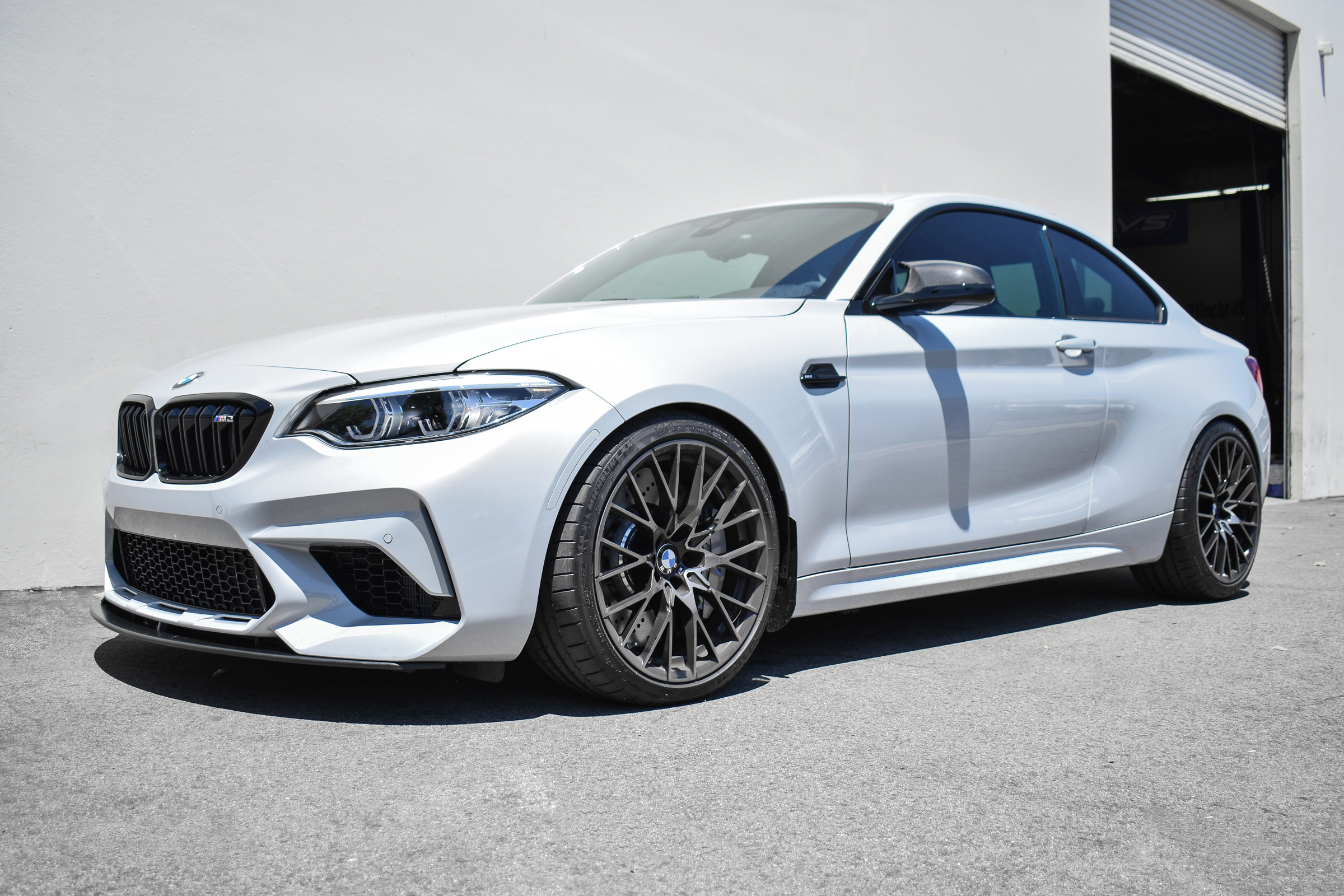 2018 Hockenheim Silver F87 M2 Competition - BMW M Performance Suspension & Lightweight Front Lip