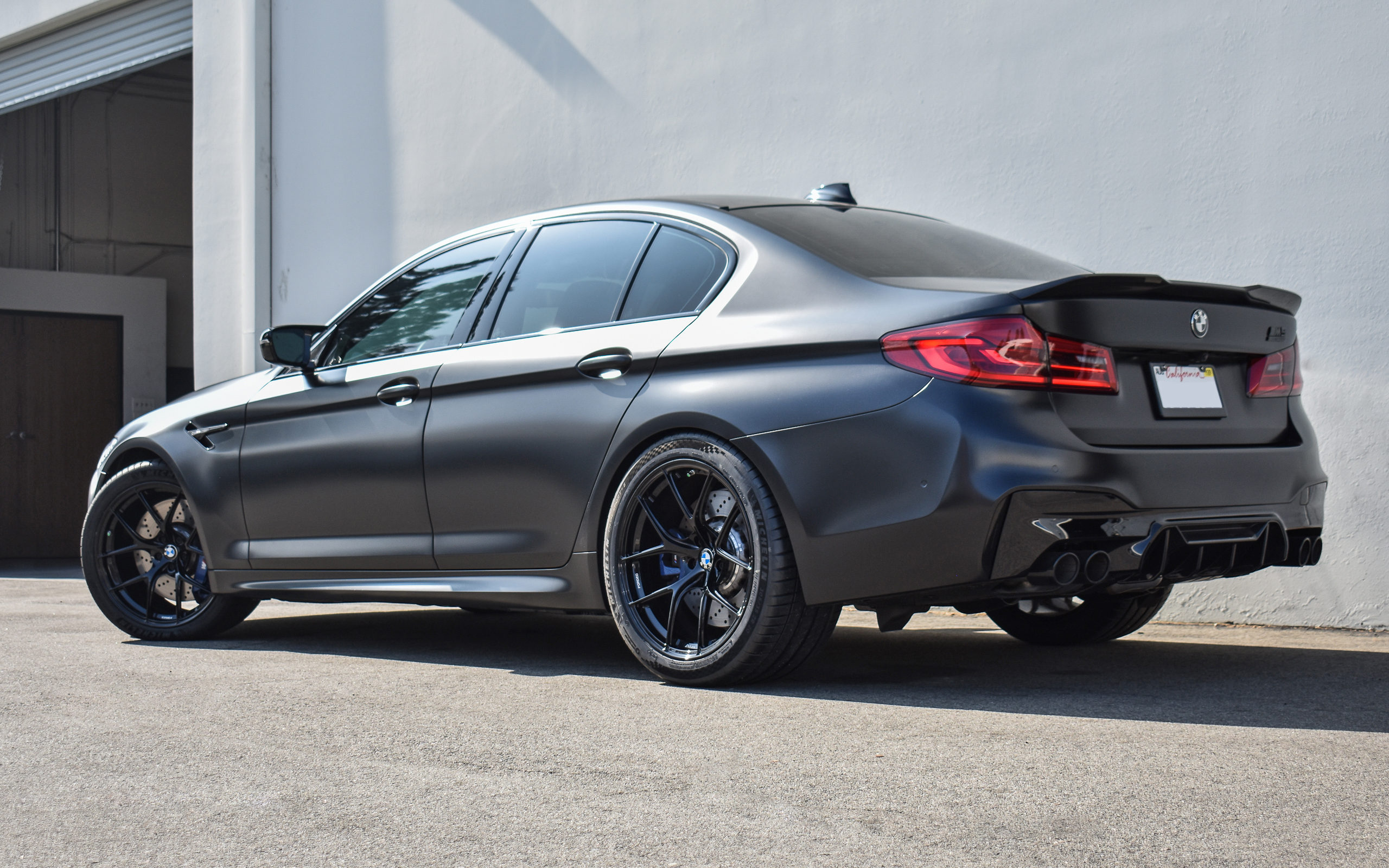 2019 F90 M5 - 20'' Titan7 T-S5 (Wicked Black)