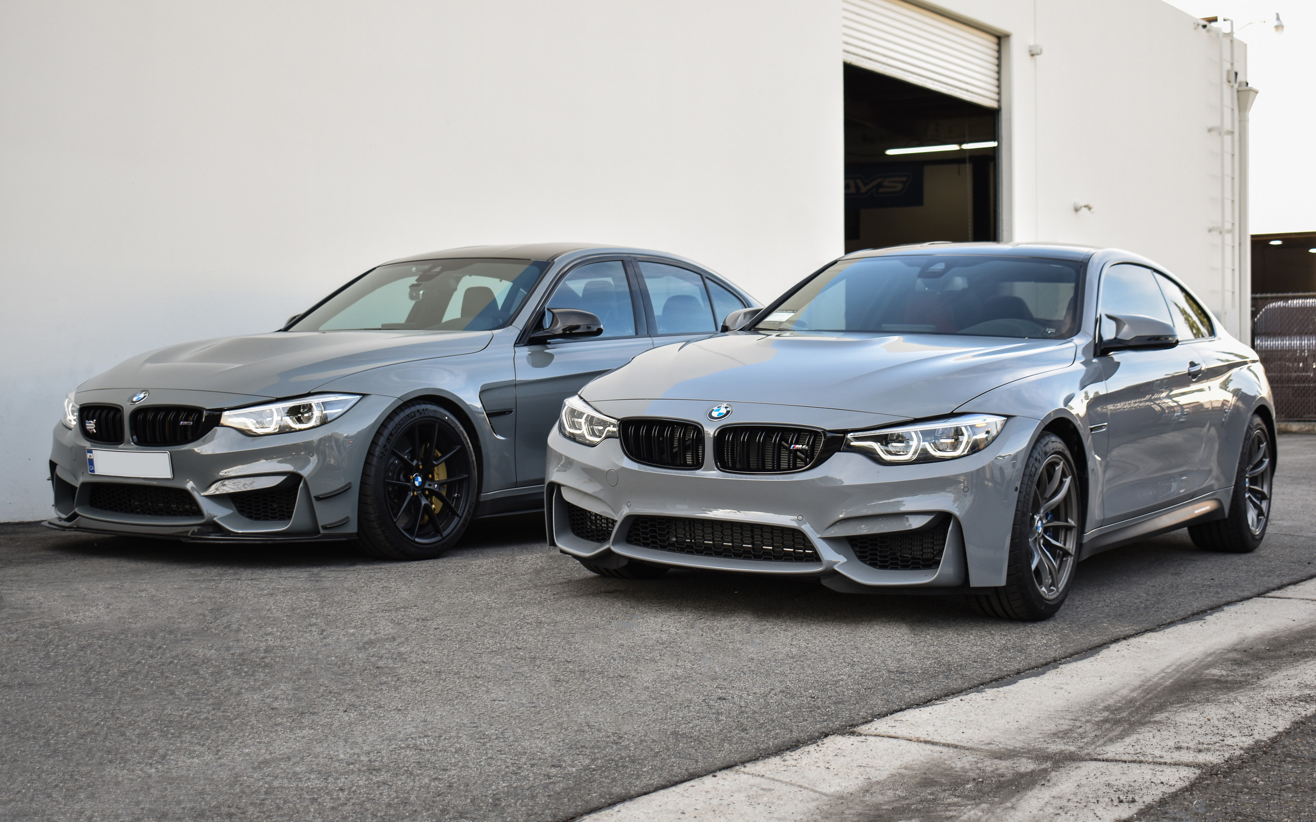 Lime Rock Grey vs Nardo Grey