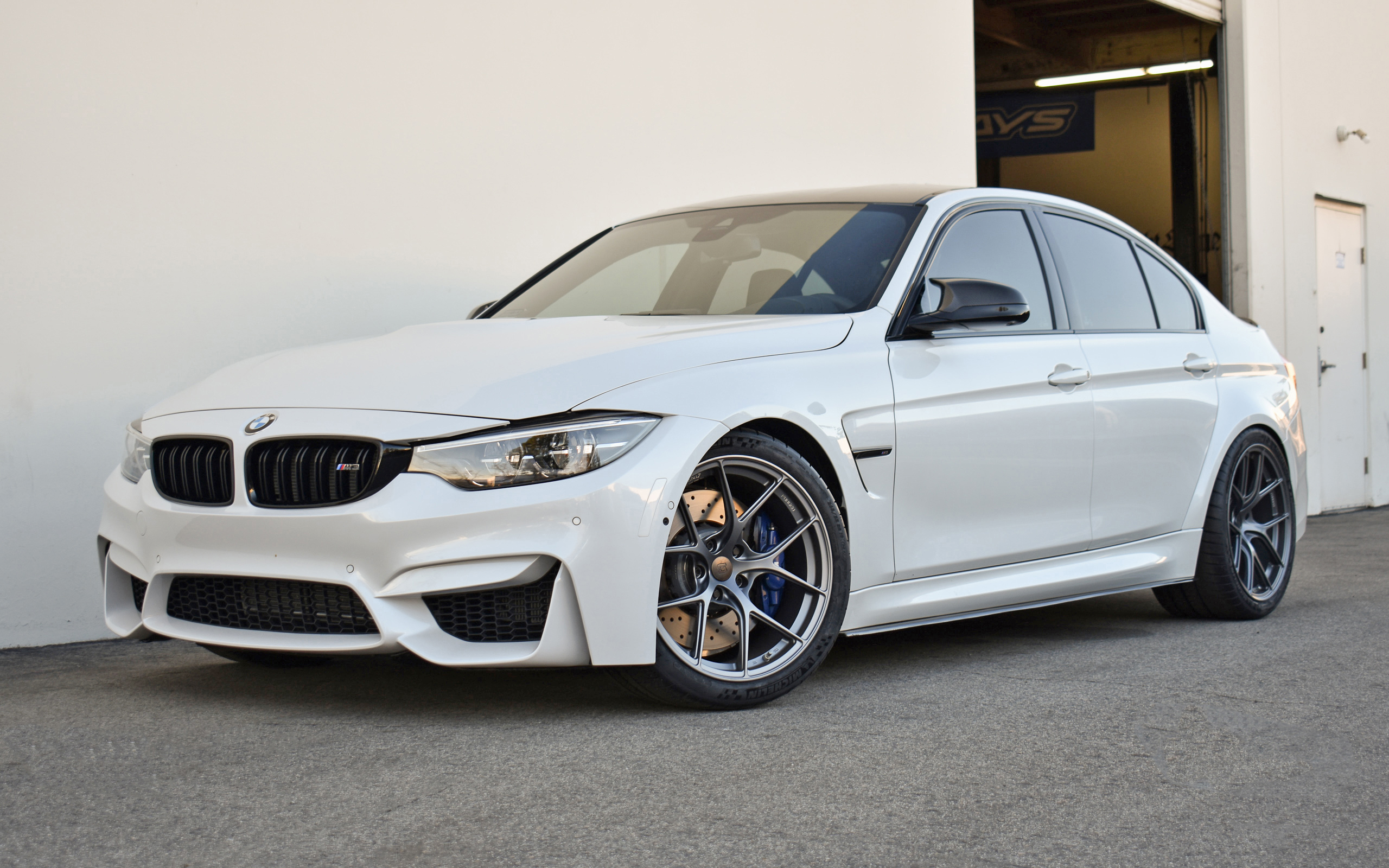 2018 Alpine White F80 M3 ZCP - Moton Suspension & Titan7 Wheels