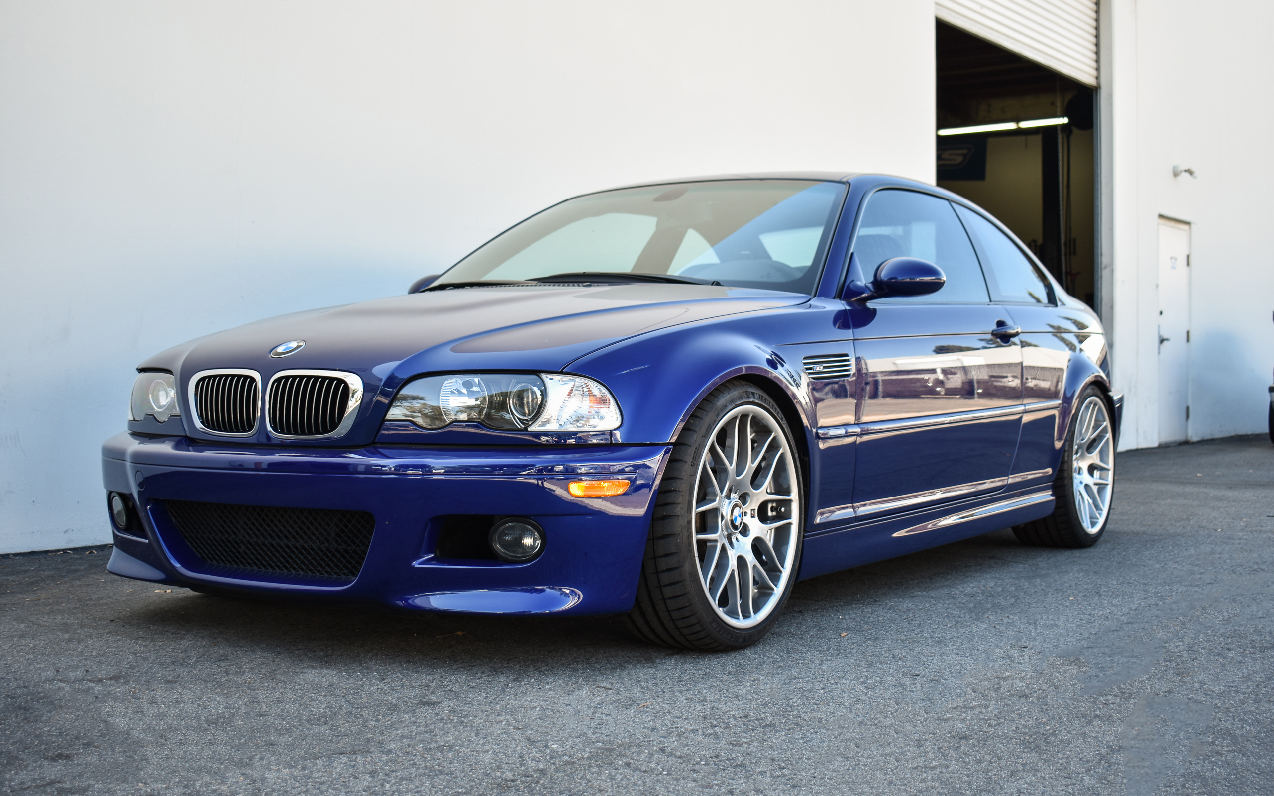 Interlagos Blue E46 M3 - KW V2, Eisenmann Exhaust