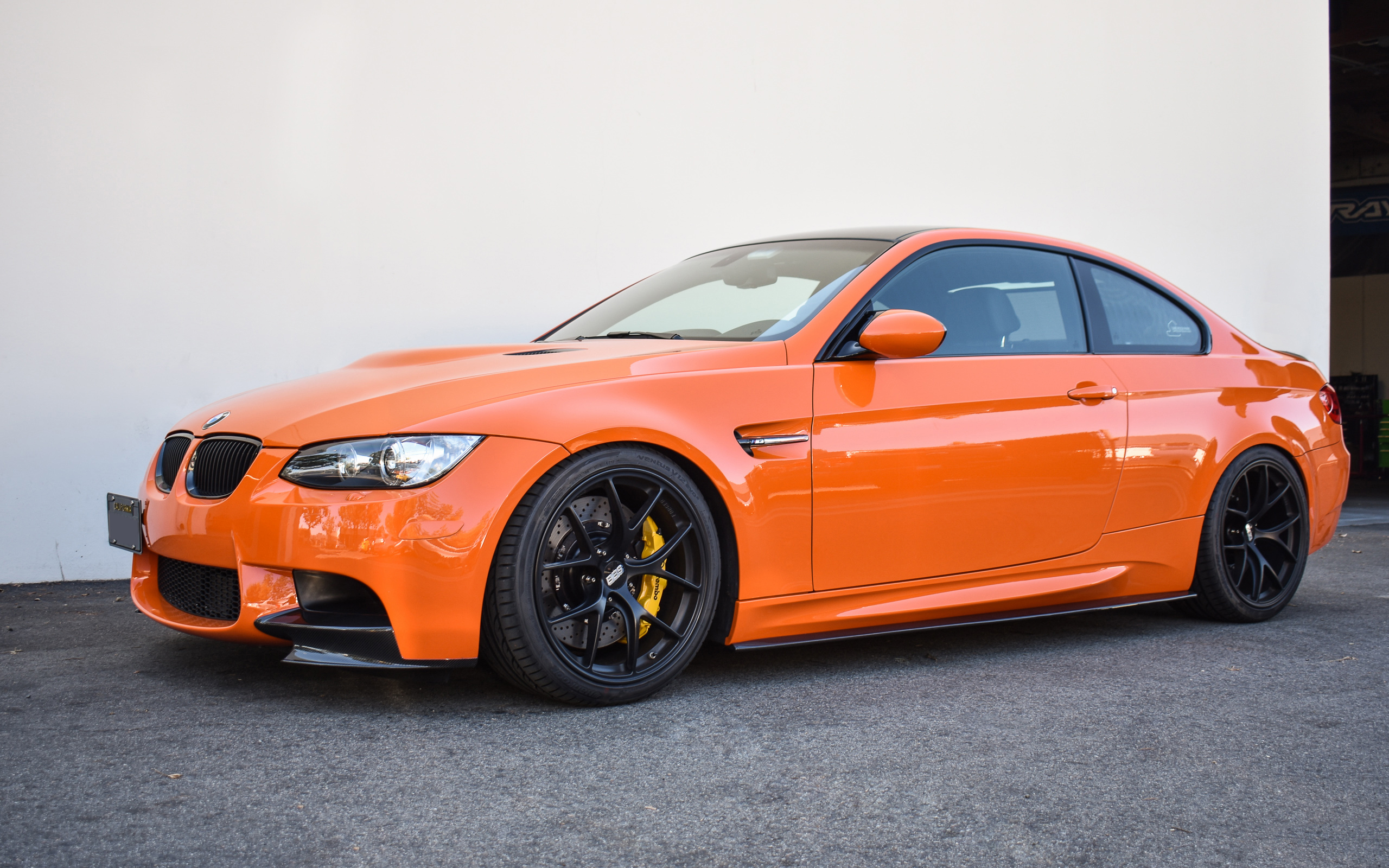 2013 Fire Orange E92 M3 Lime Rock Park Edition -  KW  Variant 3 (V3) Coilover System