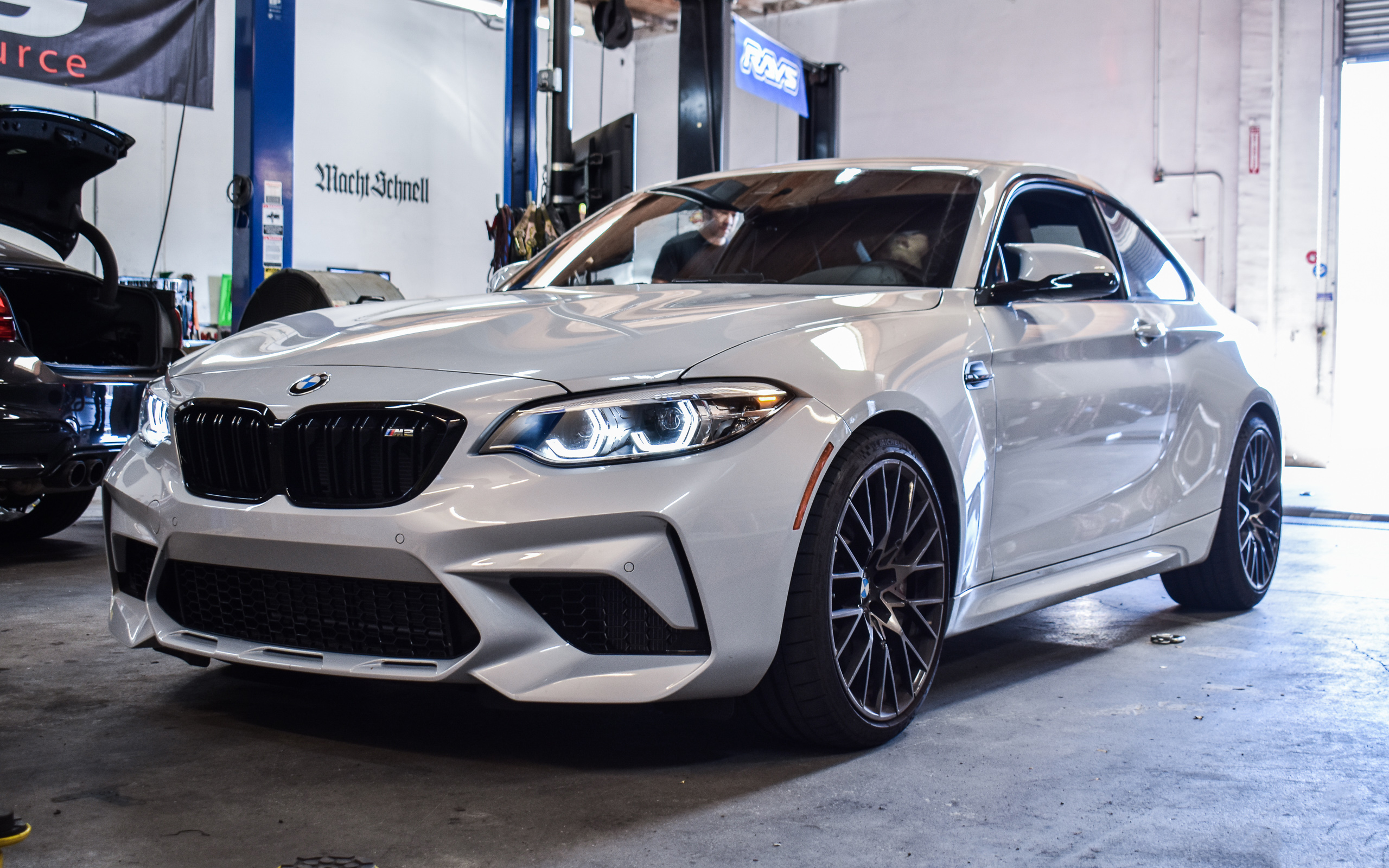 2019 Hockenheim Silver Metallic F87 M2 Competition - IND, AutoTecknic