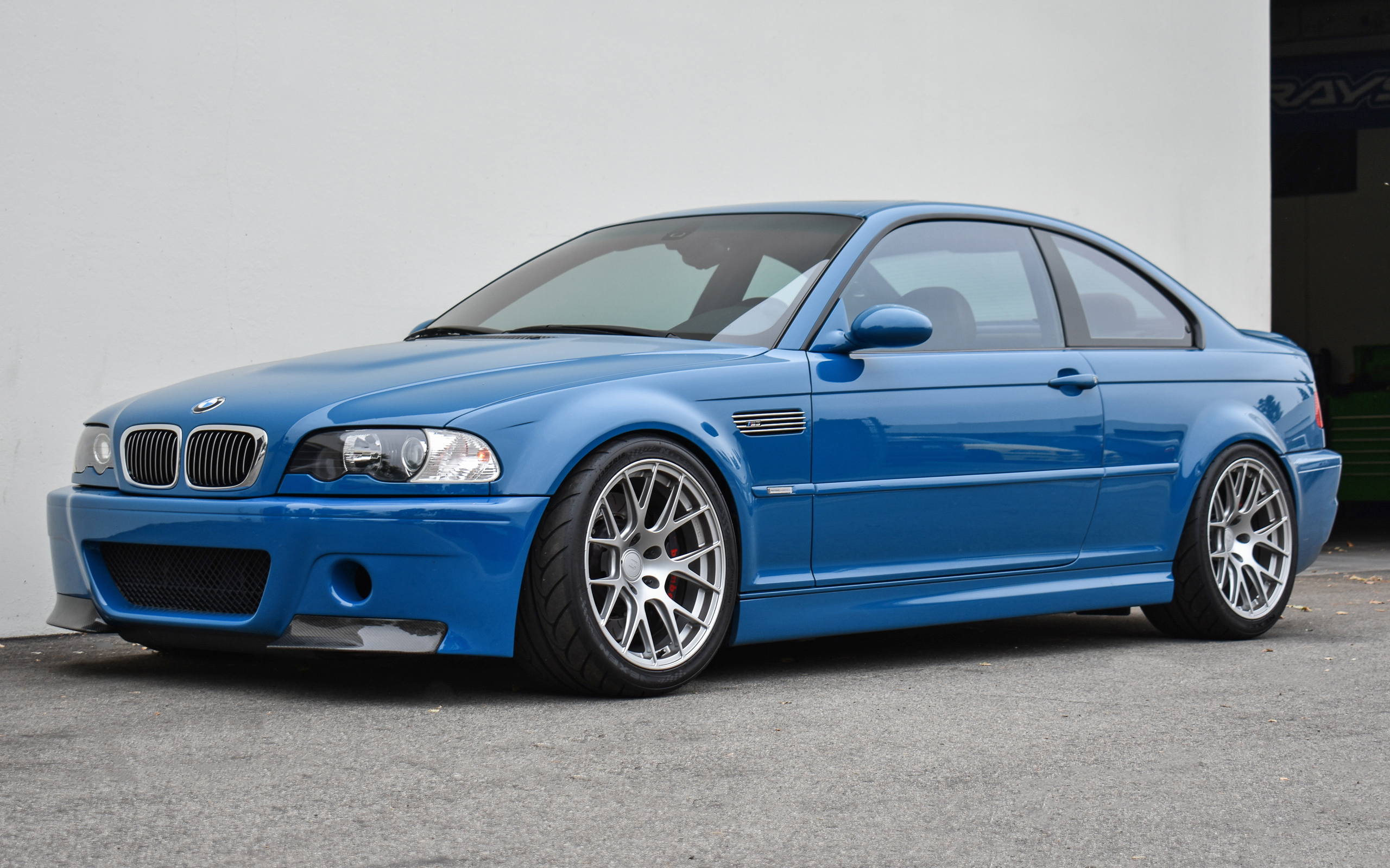 Laguna Seca Blue E46 M3 Ast 5100 Titan7 T S7 Bmw Performance Parts Services