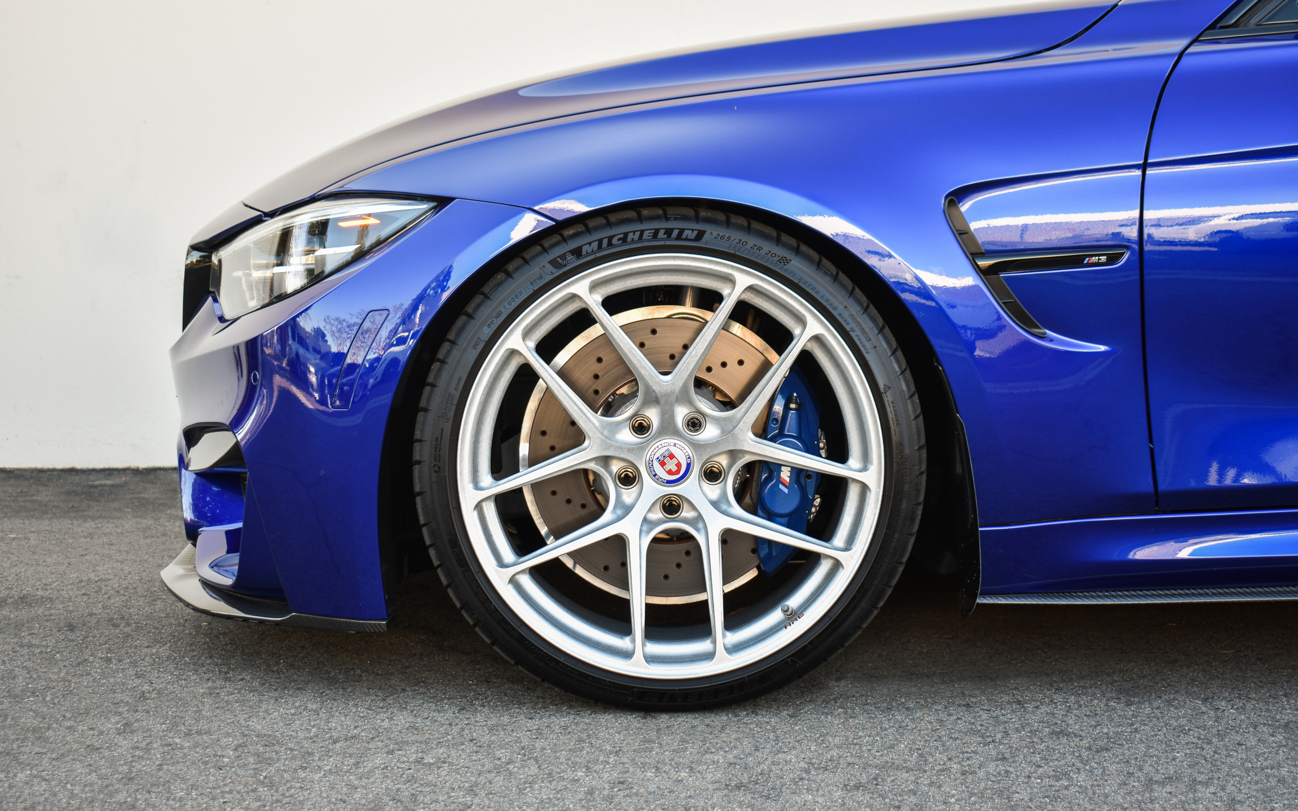 2018 San Marino Blue F80 M3 CS - HRE R101 (Stone Finish)