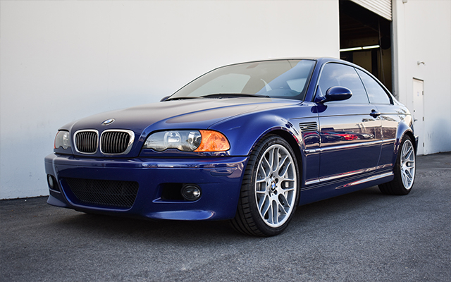 Interlagos Blue E46 M3 Competition - Recaro Sportster CS
