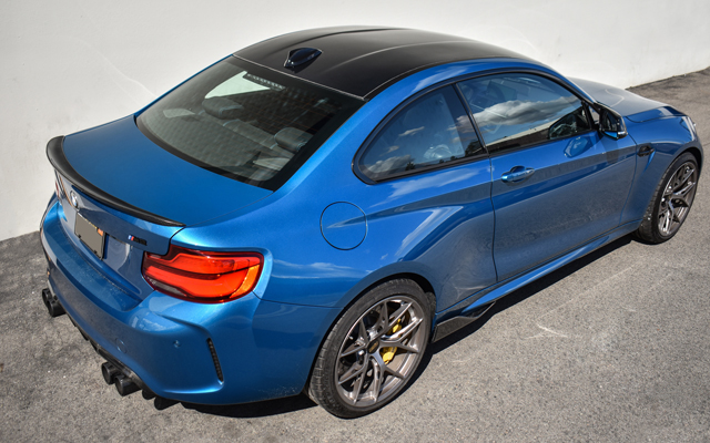 2017 Long Beach Blue F87 M2 - RKP Carbon Fiber Roof