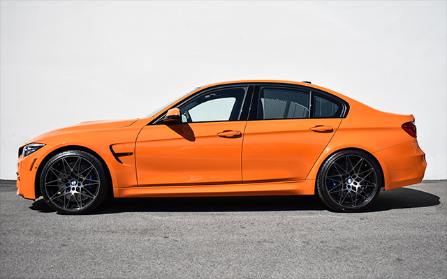 2018 Fire Orange F80 M3 ZCP - Macht Schnell Spacers
